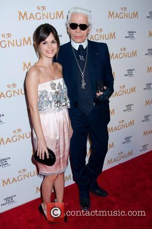 Rachel Bilson and Karl Lagerfeld 2011 Tribeca Film Festival debut of Karl Lagerfeld & Rachel Bilson's original film series inspired...