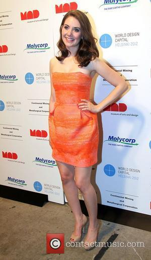Alison Brie The Fluorescent Ball at the Museum of Arts and Design New York City, USA - 16.05.11