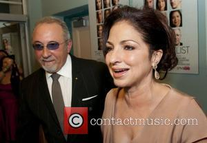 Emilio Estefan and Gloria Estefan at the HBO Miami Red-Carpet Premiere of THE LATINO LIST at the Colony Theater Miami...