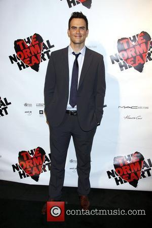 Cheyenne Jackson Opening night after party for the Broadway production of 'The Normal Heart'  held at the Edison Ballroom....
