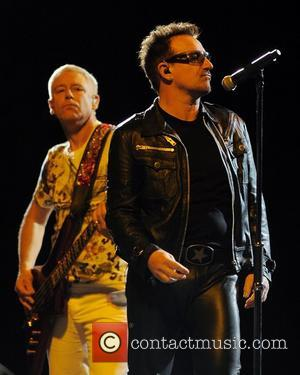 Bono, Adam Clayton and U2