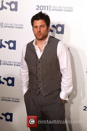 James Roday of Psych the 2011 USA Upfront at The Tent at Lincoln Center New York City, USA - 02.05.11