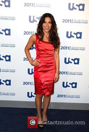 Sarah Shahi of Fairly Legal the 2011 USA Upfront at The Tent at Lincoln Center New York City, USA -...