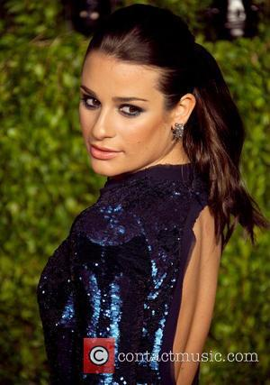 Lea Michele and Vanity Fair