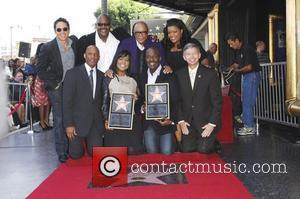 BeBe Winans, CeCe Winans, family, friends BeBe and CeCe Winans honored with Star on the Hollywood Walk of Fame Hollywood,...