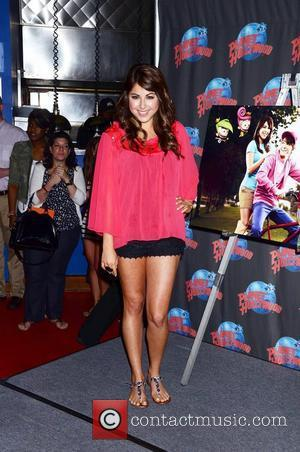 Daniella Monet  appears at Planet Hollywood to promote the new Nickelodeon live-action TV movie 'A Fairly Odd Movie: Grow...