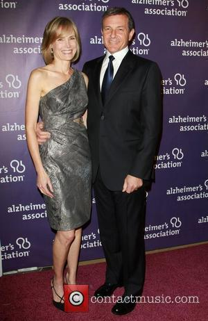Willow Bay with Robert A. Iger The Alzheimer's Association's 19th Annual A Night At Sardi's  Held At The Beverly...