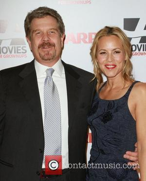 John Wells and Maria Bello AARP The Magazine's 10th Annual Movies for Grownups Awards held at the Beverly Wilshire Hotel...