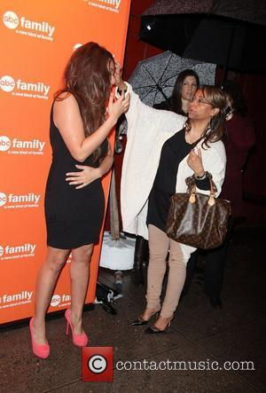 Raven-Symone, and her Mother Lydia Pearman  ABC Family 2011 Upfronts season kick-off at Beauty and Essex New York City,...