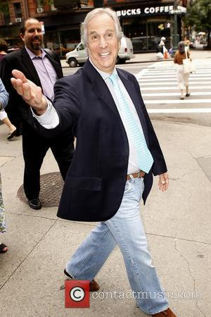 Henry Winkler leaving ABC studios after appearing on 'Live with Regis and Kelly' New York City, USA - 13.07.11