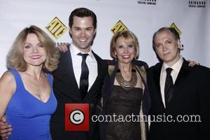 Alison Fraser, Andrew Rannells, Julie Halston and Charles Busch Abingdon Theatre Company's 19th Annual Benefit Gala held at the Espace...