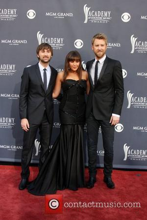 Dave Haywood, Charles Kelley, Hillary Scott and Lady Antebellum