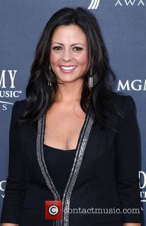 Sara Evans The Academy of Country Music Awards 2011 at MGM Grand Garden Arena - Arrivals Las Vegas, Nevada -...