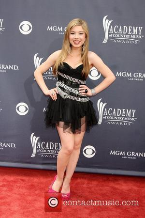 Jennette McCurdy  ,  The Academy of Country Music Awards 2011 at MGM Grand Garden Arena - Arrivals Las...