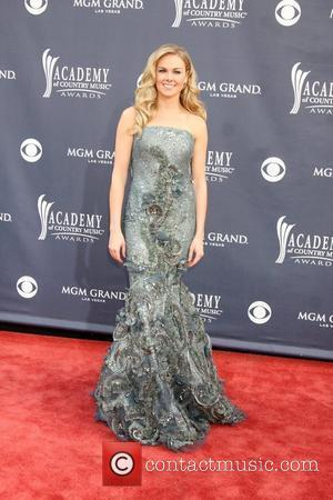 Laura Bell Bundy  ,  The Academy of Country Music Awards 2011 at MGM Grand Garden Arena - Arrivals...