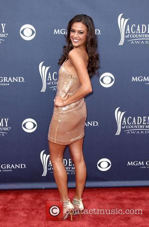 Jana Kramer The Academy of Country Music Awards 2011 at MGM Grand Garden Arena - Arrivals Las Vegas, Nevada -...