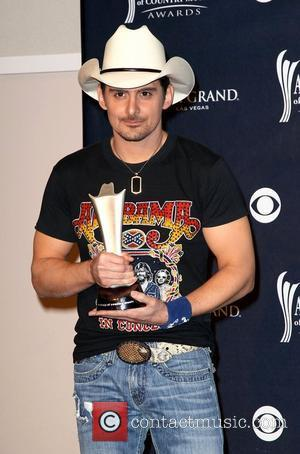 Brad Paisley The Academy of Country Music Awards 2011 at MGM Grand Garden Arena - Press Room Las Vegas, Nevada...