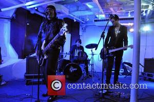 Adam Ant performs Sea Shepherd UK presents Operation Divine Wind aboard the HMS Belfast London, England - 13.09.11 This is...