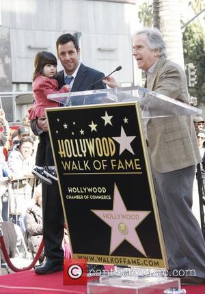 Adam Sandler and Henry Winkler