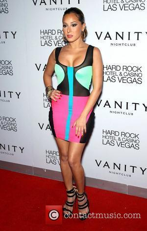 Adrienne Bailon and Hard Rock Hotel And Casino