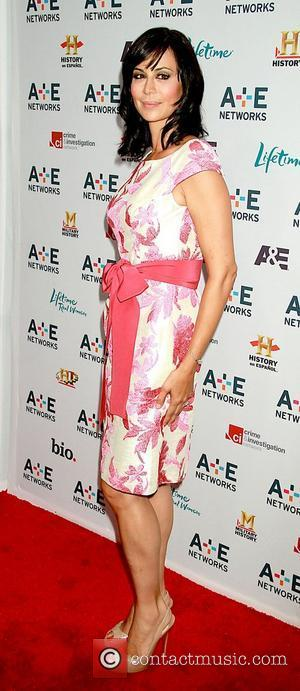 Catherine Bell A&E Television Networks 2011 Upfront, held at IAC Building - Arrivals New York City, USA - 04.05.11