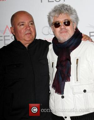 Agustin Almodovar, Pedro Almodovar and Grauman's Chinese Theatre