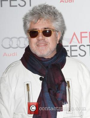 Pedro Almodovar and Grauman's Chinese Theatre