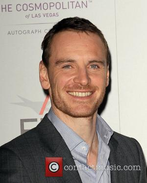 Michael Fassbender and Grauman's Chinese Theatre