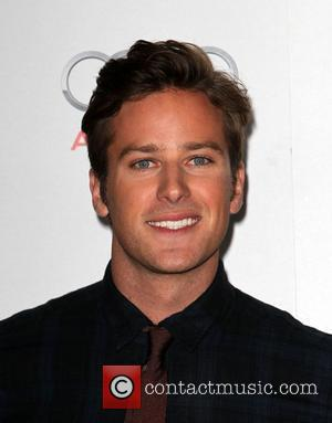 Armie Hammer and Grauman's Chinese Theatre