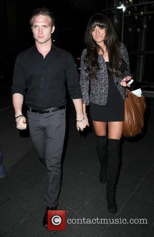 Chris Fountain and Girlfriend ,  at the Ghost aftershow party held at the Radisson Hotel - Arrivals Manchester, England...