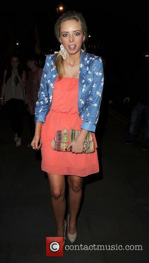 Sacha Parkinson,  at the Ghost aftershow party held at the Radisson Hotel - Arrivals Manchester, England - 12.04.11