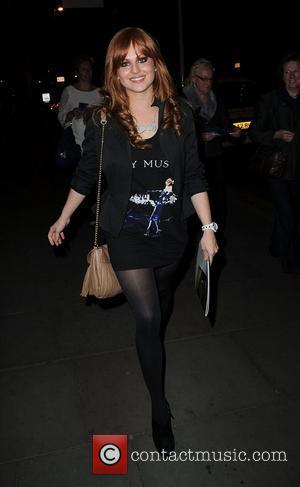 Tina O'Brien ,  at the Ghost aftershow party held at the Radisson Hotel - Arrivals Manchester, England - 12.04.11