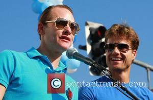 Carson Kressley and Louis Van Amstel