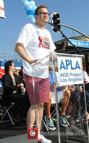 Drew Carey 27th Annual AIDS Walk Los Angeles 2011 Opening Ceremony held on Santa Monica Blvd West Hollywood, California -...