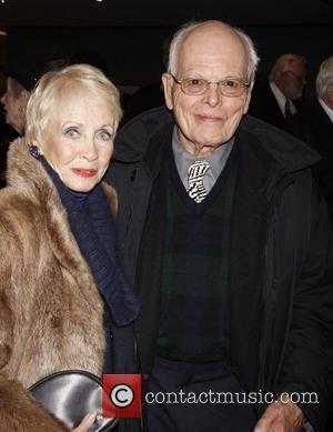 Jane Powell and Al Hirschfeld