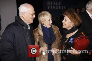 Jane Powell, Al Hirschfeld and Marge Champion