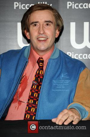 Steve Coogan aka Alan Partridge at a book signing at Waterstone's, Piccadilly London, England - 04.10.11