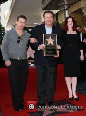 Stephen Baldwin, Alec Baldwin and Megan Mullally