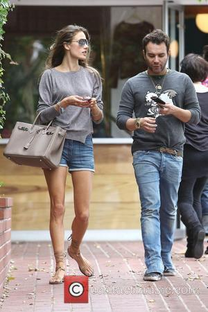 Alessandra Ambrosio and Fred Segal