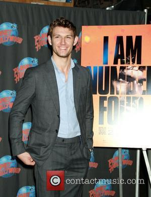 Alex Pettyfer at Planet Hollywood to promotes his new movie 'I Am Number Four' with a hand impression ceremony. New...