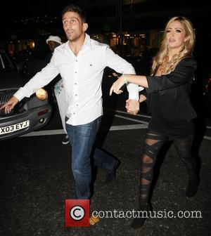 Alex Reid and Chantelle Houghton leaving Amika club in Kensington London, England - 16.09.11