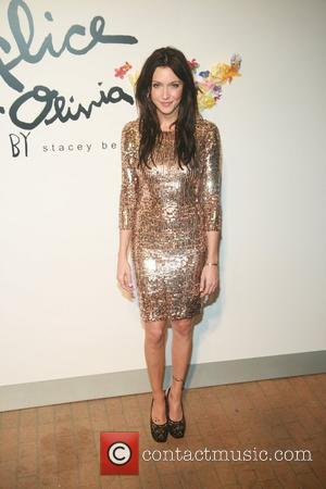 Katie Cassidy    Alice and Olivia by Stacey Bendet Spring/Summer2012 Presentation at the Highline Stages New York City,...
