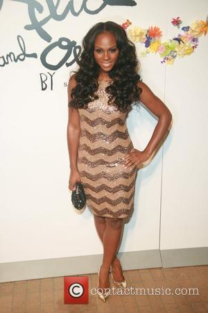 Tika Sumpter    Alice and Olivia by Stacey Bendet Spring/Summer2012 Presentation at the Highline Stages New York City,...