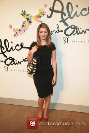 Zara Martin    Alice and Olivia by Stacey Bendet Spring/Summer2012 Presentation at the Highline Stages New York City,...