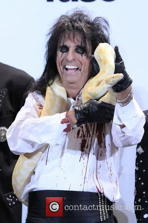 Alice Cooper attends the 26th annual Rock and Roll Hall of Fame Induction Ceremony at The Waldorf Astoria. New York...
