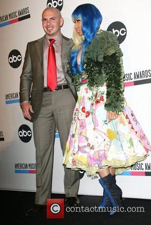 Pitbull and Nicki Minaj 2011 American Music Awards Nominees Press Conference held at JW Marriott Los Angeles at L.A. LIVE...