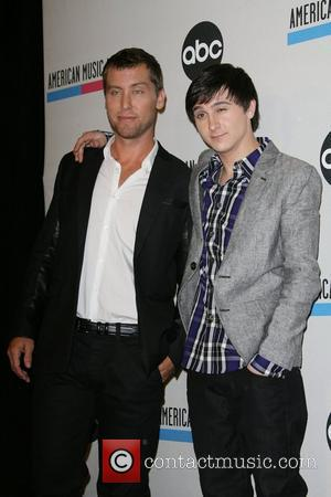 Lance Bass, Mitchel Musso and American Music Awards