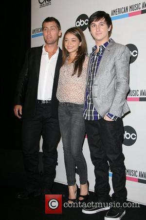 Lance Bass, Mitchel Musso, Sarah Hyland and American Music Awards