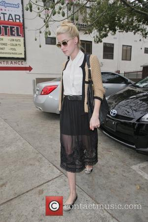 Amber Heard  leaves an acting class wearing a sheer skirt  Los Angeles, California - 10.11.11
