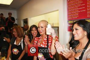 Amber Rose and Blondie